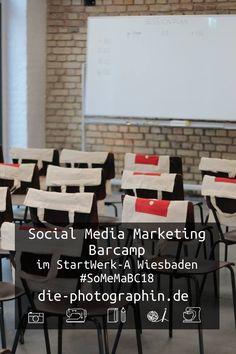 Social Media Marketing Barcamp im StartWerk-A in Wiesbaden #SoMeMaBC18  Save the Date 01.09.2018