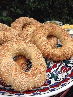 Simit As gastronomias de Simone Bagel, Bread, Food, Recipies, Brot, Essen, Baking, Meals, Breads
