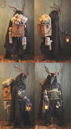 Yule Goat Costume FINISHED! :D (So many photos!) | Nymla on Patreon