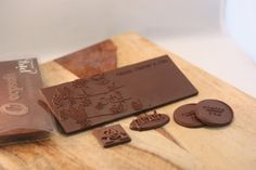 #3DPrinted #Chocolate Cards. | #3DPrinting #Customized