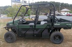 """New 2016 Kawasaki Mule Pro-DXTâ""""¢ EPS Diesel ATVs For Sale in West Virginia. The Mule PRO-DXTâ""""¢ EPS is our powerful, most capable, full-size, six-passenger diesel Muleâ""""¢ Side x Side yet. This high-capacity diesel Mule not only offers unmatched cargo and passenger versatility, but can also haul up to 1,000 pounds. And tow up to one ton. Featuring speed-sensitive EPS that automatically adjusts the amount of steering assist based on vehicle speed Powerful 993 cc, inline three-cylinder diesel…"""