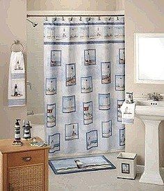 Doesn T This Lighthouse Themed Bathroom Look Nice As You Can See In The