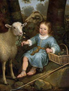 Портрет мальчика (принц Виллем III Оранский в детстве) -- 1655-60, 99х75, Частное собрание