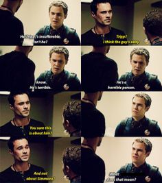Agents Of S.H.I.E.L.D | It was crazy how Ward is Hydra, but he still gives advice to Fitz. It's sad.