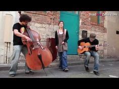 """ZAZ - """"Dans ma rue"""" acoustique (Edith Piaf cover)  This is a great trio and her voice is outstanding!"""