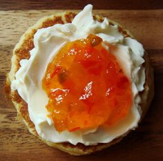 pepper jelly with cream cheese.