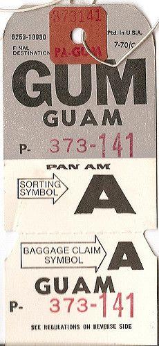 Pan Am - GUM Guam | Flickr - Photo Sharing!