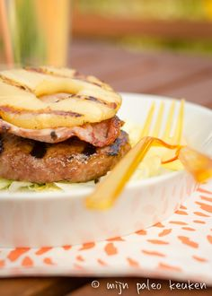 Love, FitFood | Aloha Burger | http://www.lovefitfood.nl