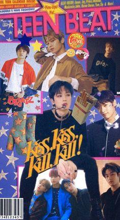 "The Boyz Juyeon: 80s Magazine ""Teen Beat"" edit by 비밀 (@secretdiary_17) on Twitter Retro Aesthetic, Kpop Aesthetic, Kpop Posters, Kpop Backgrounds, Kids Diary, Retro Wallpaper, Flower Boys, Aesthetic Pictures, Korean Girl Groups"