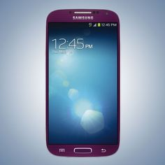 This fall, the Samsung GalaxyS4 will be available in purple
