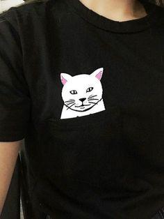 harajuku t shirt women ropa mujer t-shirt tops camiseta roupa feminina roupas clothing vetements vetement japanese couple gatos