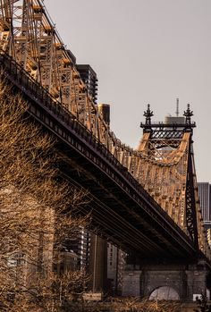 Queensboro Bridge, New York City.