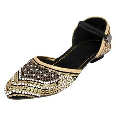 Azores Golden Stylish Sandals 6G >>> Want additional info? Click on the image.