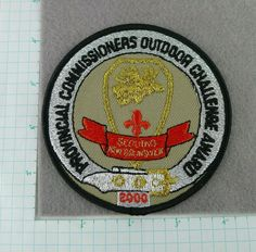 Boy Scout Provincial Commissioners Outdoor Challenge Award 2000 New Brunswick Hickory North Carolina, Boy Scout Badges, Boy Scout Patches, New Brunswick Canada, Old Hickory, Cub Scouts, Challenge, Boys, Online Deals