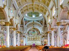 Saint Leonards Church, in Boston's North End, was the first Roman Catholic Church in New England built by Italian immigrants.  Boston, Massachusetts, USA