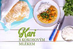 kuře na kari Korn, Chana Masala, Lunch, Chicken, Dinner, Cooking, Ethnic Recipes, Dining, Kitchen