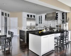 Contemporary Gallery - contemporary - kitchen - toronto - Kitchen Designers Plus Kitchen Design Gallery, Kitchen Design Open, New Kitchen Designs, Kitchen Trends, Kitchen Ideas, Kitchen Wood, Island Kitchen, Open Kitchen, Kitchen Inspiration