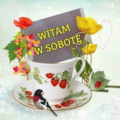 Good Morning, Tea Cups, Mugs, Tableware, Polish, Pictures, Buen Dia, Dinnerware, Bonjour