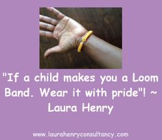 Loom Band - Wear it with pride