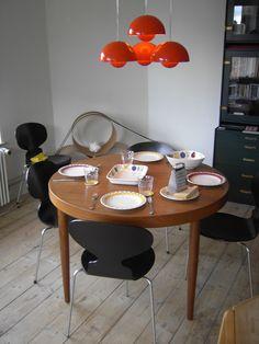 1960's Flowerpots VERNER PANTON space age DANISH lamp ENAMEL louis poulsen | eBay Pop Art, Lights Fantastic, Antique Lamps, Danish Modern, Danish Design, Flower Pots, Space Age, Sweet Home, The Originals
