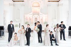 Wedding Party at Vibiana Wedding   Eileen Liu Photography