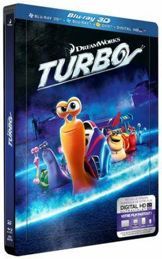 TURBO de DREAMSWORKS EN 3D   BLU-RAY 3D   NEUF !!! EDITION STEELBOOK METAL