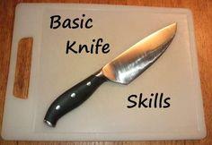 basic knife skills - cool up-close photos