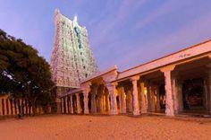 Sorting Diamonds and Pearls- India's Fabulous Tourist Spots: THIRUCHENDUR MURUGA TEMPLE