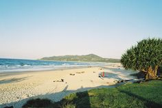 Main Beach Byron Bay.  One of our favourite places to have a beer. Holiday Destinations, Travel Destinations, Take Me Away, Cambridge Library, Beach Bucket, Travel Memories, Weird And Wonderful, Byron Bay, South Wales