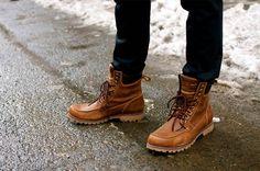 Combat boots (inspiration militaire)