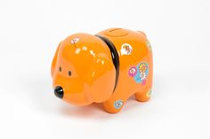 Doggy Bank Laranja   A Loja do Gato Preto   #alojadogatopreto   #shoponline   referência 72933463