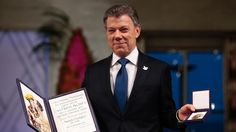 Santos recibe el Nobel de la Paz y da por terminada la guerra en Colombia      El presidente de Colombia asegura que los niños son el objetivo principal del proceso de paz