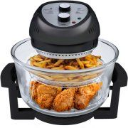 The Big Boss 1300 Watt High Speed, Low Energy Oil-Less Fryer is traditional cooking reinvented. This energy efficient tabletop cooker combines halogen heat, convection and infrared technology . Kitchen Gadgets, Kitchen Appliances, Kitchen Stuff, Cooking Gadgets, Kitchen Countertops, Kitchen Tools, Kitchen Dining, Kitchen Things, Small Appliances