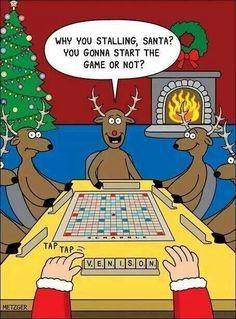 Bwahahahaha... Poor Santa...