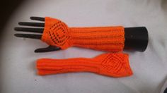 Lace diamond effect knitted gloves in your by MySpellboundDesigns, £8.99