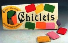 Pinner says: You would have to chew several to get much chewing gum . but they were colorful and fun.