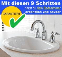 Mit diesen 9 Schritten hältst du dein Bad ordentlich und sauber