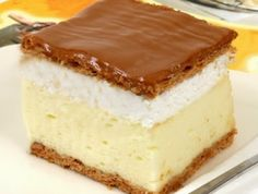 *** Gastro: Perfect homemade creamy recipe – Sweet World Ideas Hungarian Desserts, Hungarian Cake, Hungarian Recipes, My Recipes, Sweet Recipes, Cookie Recipes, Dessert Recipes, Bread Dough Recipe, Just Eat It