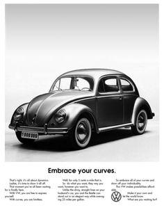 Embrace your curves. Helmut Krone