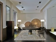Promemoria | Dining Table | Wood & Bronze | Chairs | Bilou Bilou | Interior | Design