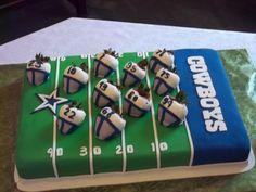 Dallas Cowboys Strawberries   Cake By Alissa Newlin