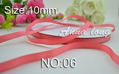 100yards Grosgrain Ribbon 3/8'' 10mm hairbows gift packing wedding decoration diy ribbons No: 06 ** Check this awesome product by going to the link at the image.