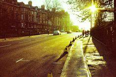Glasgow at sunrise