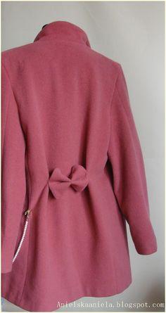 DIY Jacket refashion jak przerobić żakiet? diy żakiet płaszczyk