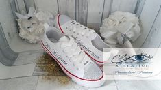 Personalised & customised Canvas Shoes, we provide high-quality Bridal Canvas Shoes, Birthday shoes, communion and confirmation shoes, personalised canvas shoes. Personalised canvas shoes for all occasions: Stunning personalised and customised Canvas Shoes for your perfect day! When it comes to custom canvas shoes, we do it best.