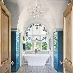 Bathroom inspiration by @luxemagazine  #bathroom #inspiration #countryhomes #interiordesign #decor #home #renovations