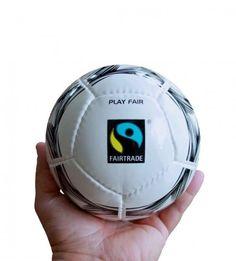 Fair trade mini soccer ball. $20 on Ethical Ocean. #fairtrade #soccer