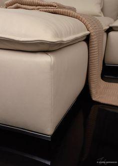 Schöne Details: eine Biese an der markanten Sitzmatte in Kassetten-Optik.