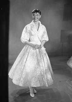 Rare Audrey Hepburn — Remember this gown from Roman Holiday? At the 26th...
