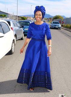 Shweshwe Dresses, African Maxi Dresses, African Fashion Ankara, Latest African Fashion Dresses, African Dresses For Women, African Print Fashion, Sepedi Traditional Dresses, South African Traditional Dresses, African Print Skirt